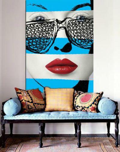 decoração pop art