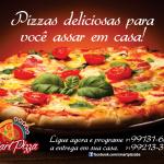Pizzas deliciosas para você assar em casa! Smart Pizza.